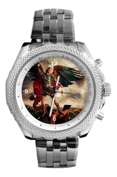 São Miguel Arcanjo Relógio Personalizado 5276