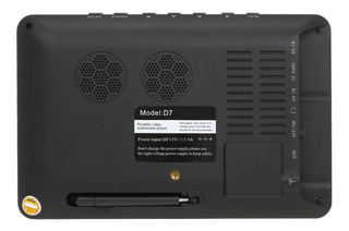 Leadstar Mini 7 Pulgadas Dvb-t-t2 Televisión Analógica