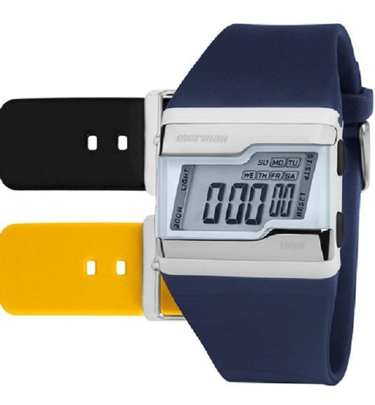 Kit Relógio Mormaii Unissex Aquarela Fz/t8y Digital