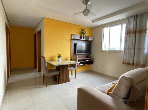 Apartamento Com 3 Quartos Para Comprar No Piratininga (venda Nova) Em Belo Horizonte/mg - 2445