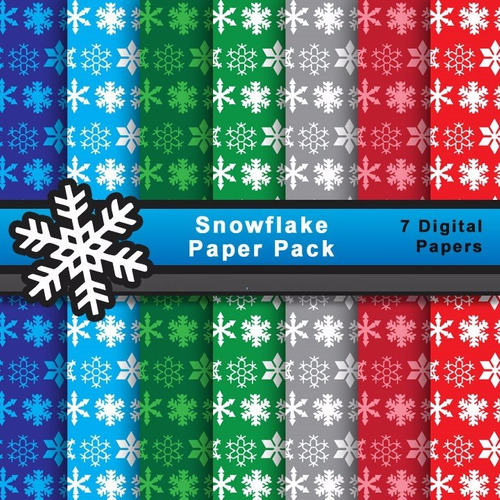 Kit Imprimible Pack Fondos Navidad Clipart Cod 44