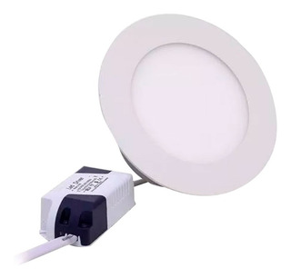 Panel Calido Led De Embutir Redondo 3w Spot Pack X 10 220v