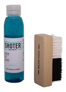 Kit Shoter Espuma Limpiadora Cepillo -shoter2- Trip Store