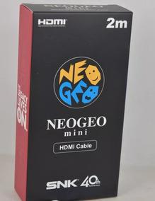 Cabo Hdmi Snk Neo Geo Mini Original