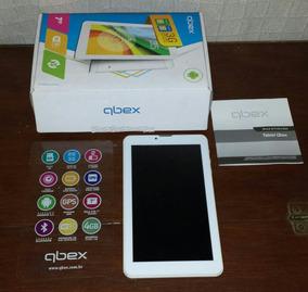 Tablet Qbex Tela7 Tela Trincada.