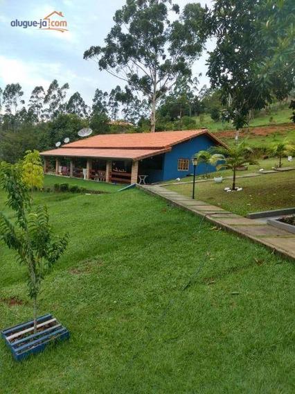 Chácara Com 3 Dormitórios À Venda, 8000 M² Por R$ 550.000 - Zona Rural - Paraibuna/sp - Ch0158