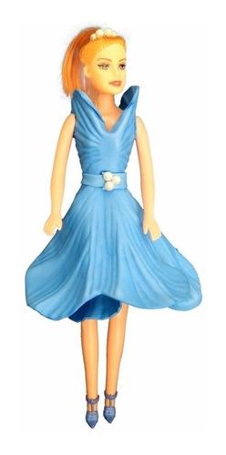 Imagem 1 de 1 de Mia - Azul - Bonecas Artesan