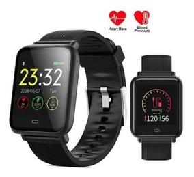 Relógio Inteligente Smartwatch Q9 Batimentos Pressão +brinde