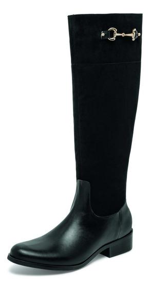 Bota Larga Dama Negro, Envio Gratis, Zapato Mujer 04417