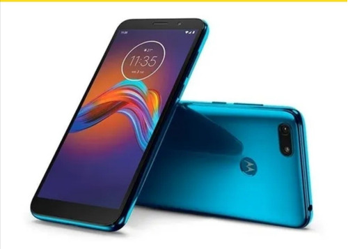 Imagen 1 de 1 de Celular Motorola E6 Azul Play 32gb 13 Mpx Seguro Gratis