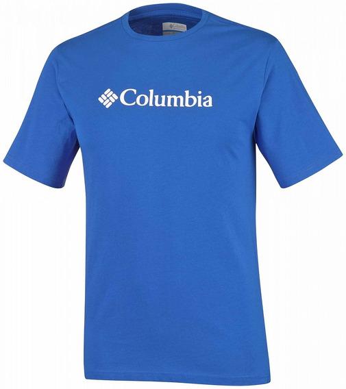 Remera Hombre Columbia Csc Logo Manga Corta