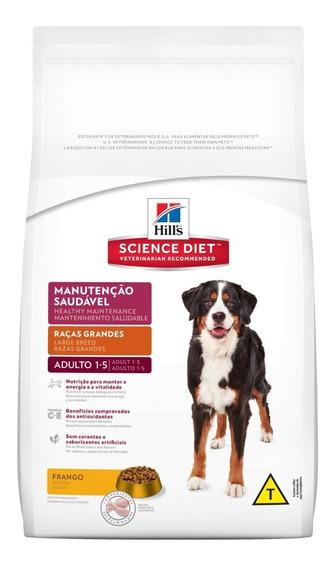 Ração Hills Cão Adulto Raças Grandes 15kg