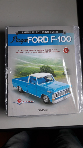 Fascículos Pick Up Ford Salvat 1:8 Do 1 Ao 37