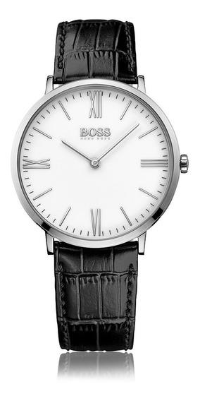 Reloj Hugo Boss 513370 Correa Cuero Original Y Nuevo