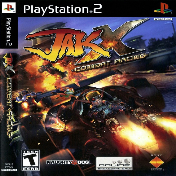 Jak 4 X Combat Racing Ps2 Desbloqueado Patch