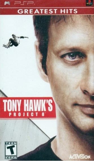 Jogo Tony Hawks Project 8 Playstation Psp Original Mídia Fís