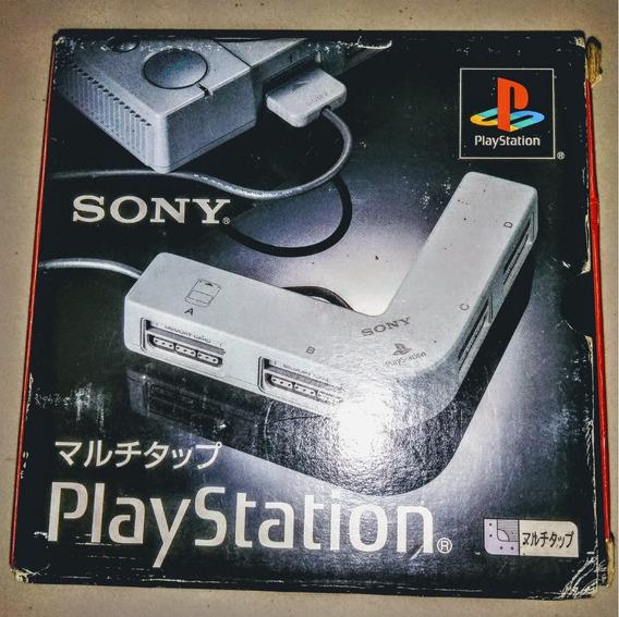 Playstation 1 - Multitap Original Playstation 1 Fat Completo