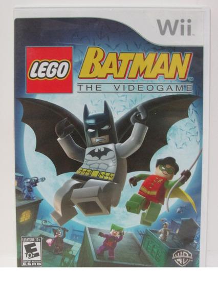 Lego Batman The Videogame - Nintendo Wii Completo Original