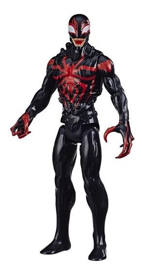 Spider Man Figura Titan Max Miles Morales - Hasbro E8686