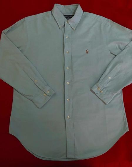 Camisa Polo Ralph Lauren 100% Original Talla L Azul/lacoste
