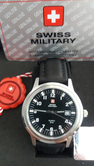 Relogio Swiss Military Novo 60mCalendario