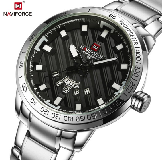 Relógio Masculino Original Elegante Executivo Novo Naviforce