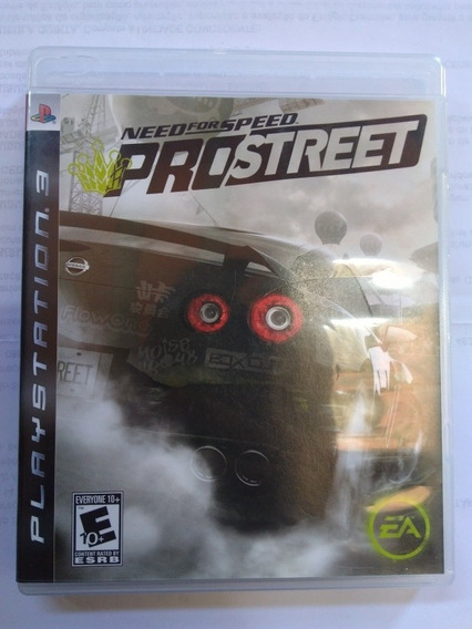 Jogo Need For Speed Pro Street Ps3 Fisica Completo R$75