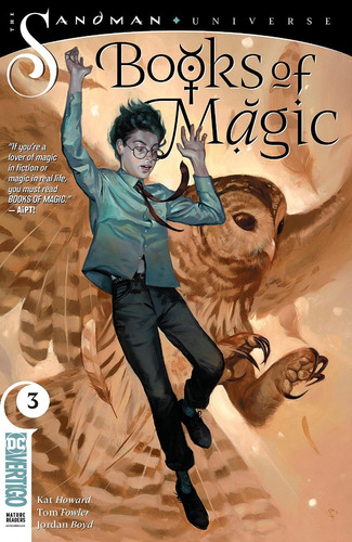 Books Of Magic #3 (2018) Sandman Universe Gaiman Vertigo