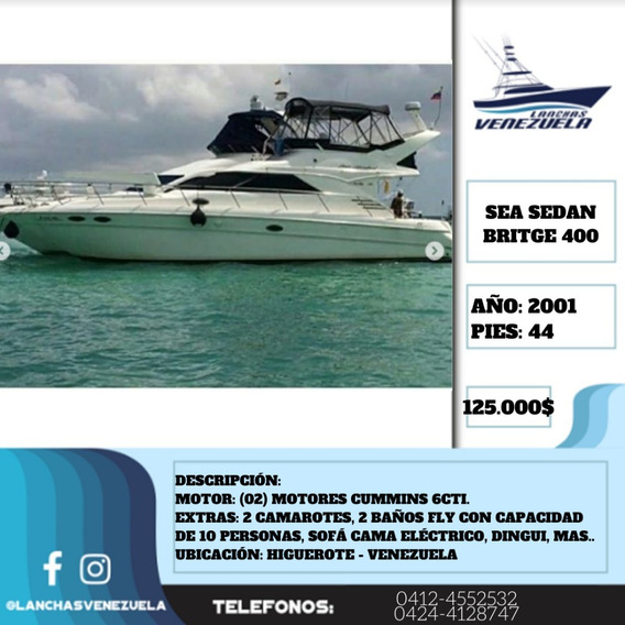 Sea Ray Sedan Britge 400 Lv338