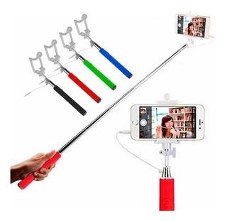 Monopod Cable Integrado Palo Selfies Celular iPhone + Regalo
