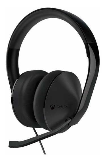 Fone de ouvido gamer Microsoft Xbox One Stereo black