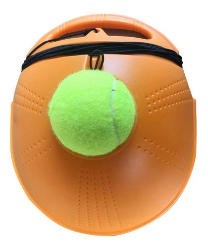 Base Trasera de Entrenador de Tenis con Cuerda el/ástica de Goma para ni/ños pr/áctica para Principiantes Juveniles Vbest life Juego de Entrenador de Pelota de Tenis