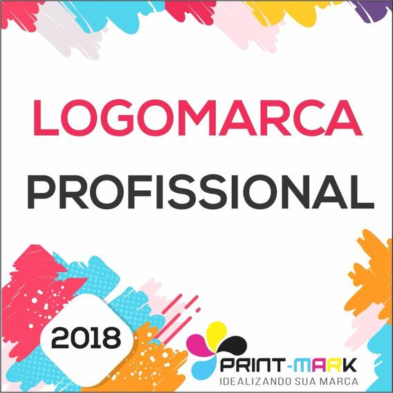 Logo Logomarca Logotipo Marca - Criação Arte Profissional