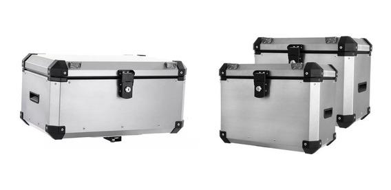 Kit Bau Roncar Top Case 56 Litros + Lateral De 40 Litros
