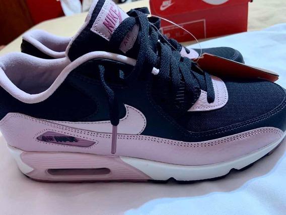 Nike Air Max 90 Wmns Negras Y Rosas