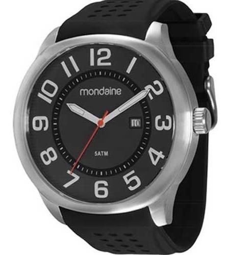 Relógio Masculino Analógico Mondaine 78504g0mgnu2 Preto