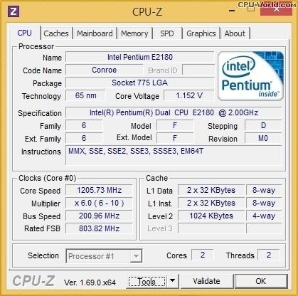 Pentium Dual Core E2180 2.00 Ghz - Lga 775