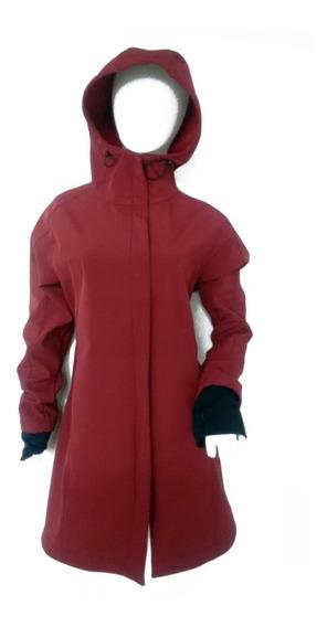 Campera Softshell One - Bordó - Mujer - 6 Cuotas S/interés