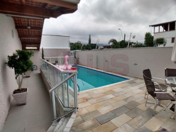 Maravilhosa Casa Mobiliada A 100 Metros Da Paia Do Indaiá Em Caraguá - Ca01303 - 34048070