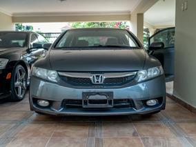 Honda Civic 2010 Lx, Asientos En Leather Y Aros De Magnesio