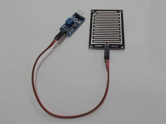 Módulo Sensor Detector De Chuva Para Arduino, Pronta Entrega