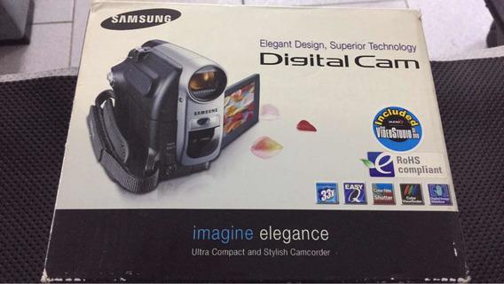 Filmadora Samsung Digital Cam Sc-d364 Ntsc