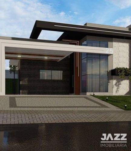 Imagem 1 de 22 de Casa Com 3 Dormitórios À Venda, 154 M² Por R$ 790.000,00 - Condomínio Jardim De Mônaco - Hortolândia/sp - Ca14424
