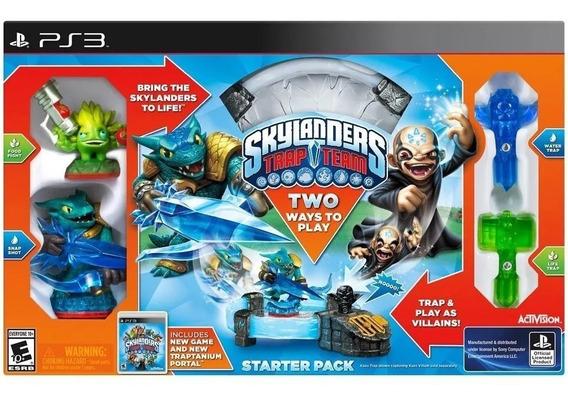 Skylanders Trap Team Starter Pack - Para Ps3 Activision.