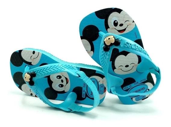 Chinelo Havaianas Baby Infantil Disney Mickey Oferta!