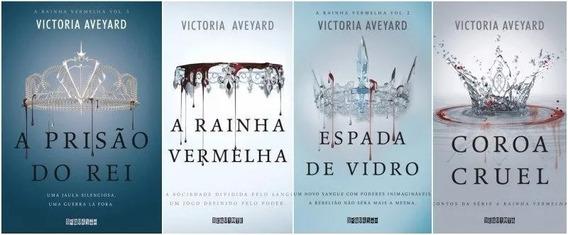 Coleção A Rainha Vermelha Victoria Aveyard - 4 Livros