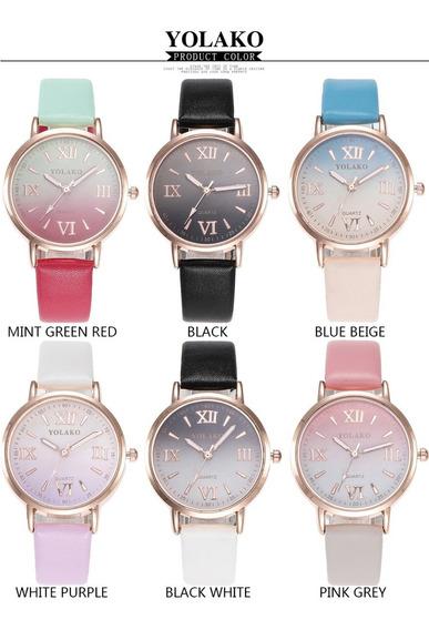 Relógio Do Esporte Das Senhoras Casuais Relógios De Luxo