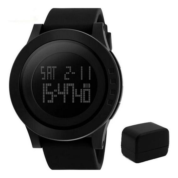 Relógio Skmei 1142 Masculino Esportivo Digital Pulseira Sili