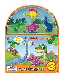 Libro De Dinosaurios Para Niños - Set De Juguetes - Pals Pr