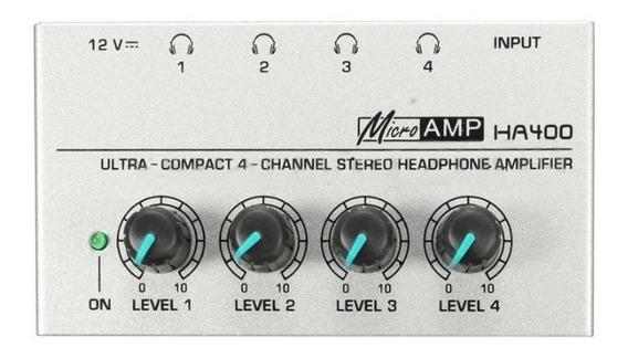 Amplificador Stereo 4 Canais Fone Ouvido Frete Grátis